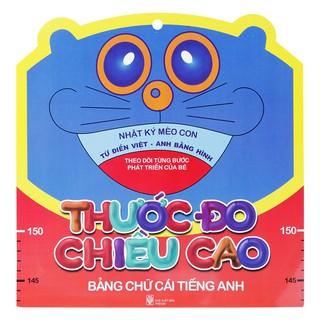 Sách - Thước Đo Chiều Cao - Bảng Chữ Cái Tiếng Anh (Trí Việt) thumbnail