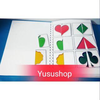 Yusushop – SET HỌC LIỆU TÌM MỘT NỬA CÒN LẠI