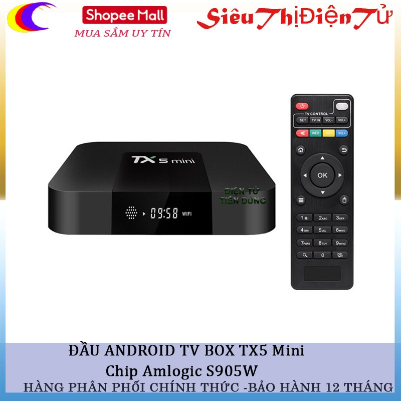 ANDROID TV BOX TX5 Mini Chip Amlogic S905W - 2911089 , 944968897 , 322_944968897 , 720000 , ANDROID-TV-BOX-TX5-Mini-Chip-Amlogic-S905W-322_944968897 , shopee.vn , ANDROID TV BOX TX5 Mini Chip Amlogic S905W