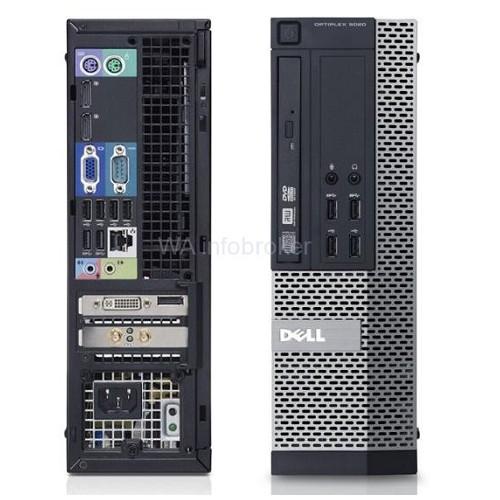 Máy tính đồng bộ Dell 9020 SFF(Main H81)(Intel® Core™ i3-4130 Processor (3M Cache, 3.40 GHz),Ram 4Gb,HDD 500GB)