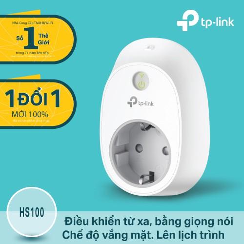 Ổ cắm thông minh HS100 điều khiển bằng wifi - Hãng phân phối chính thức