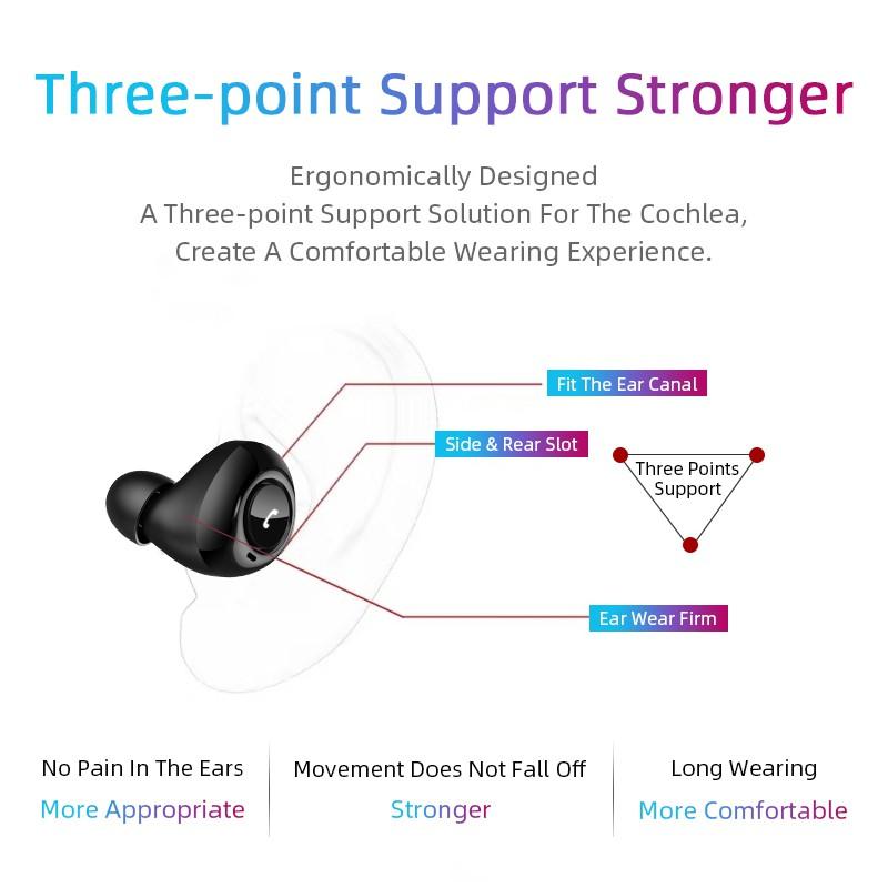 Tai nghe không dây Pulierde CP7 bluetooth 5.0 cao cấp