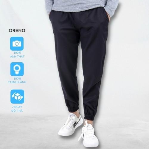 Quần Jogger ORENO Kaki Nam trơn dáng ôm , quần dài nam kaki bo chun ống vải co giãn nhẹ chuẩn form hàn