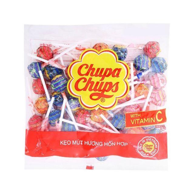 Kẹo mút chupa chups mix màu