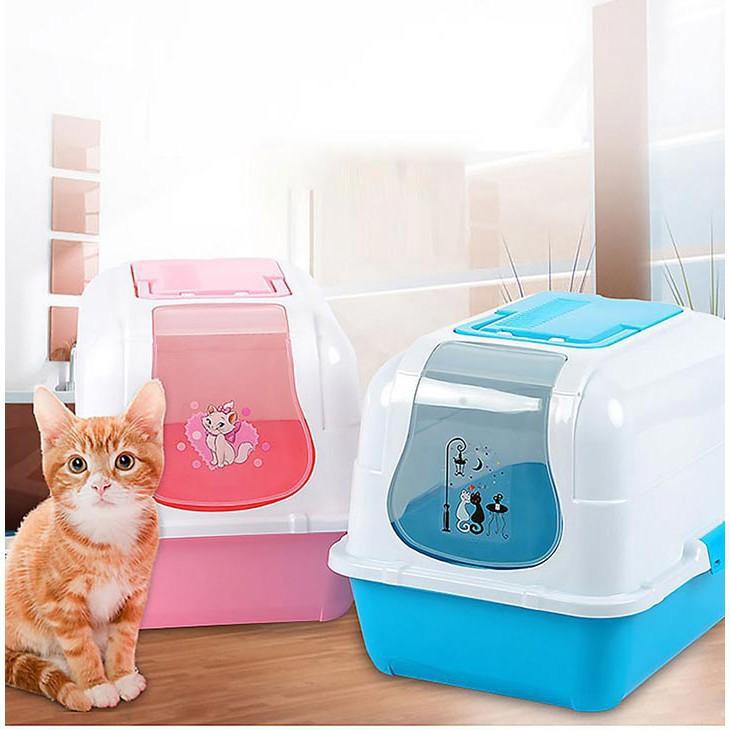 Nhà vệ sinh mèo có lọc khí, giá rẻ