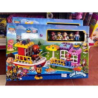 Hộp Lego ráp tàu chó cứu hộ 5725