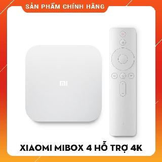 Xiaomi MiBox 4 hỗ trợ 4K tìm kiếm giọng nói