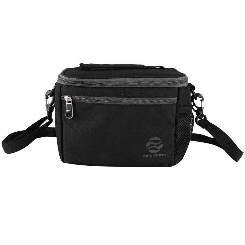 Men Outdoor Insulated Lunch Women Kids Bags Adult for Picnic with Strap Box Storage Shoulder