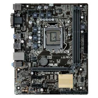 Mainboard Asus H110M-K D3 cũ đã mod bios chạy được i3 9100f