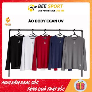 Áo thun tay dài Body Egan UV - Áo giữ nhiệt nam, áo chống nắng đá bóng nam- Kiểu dáng đơn giản, thấm hút tốt, thoáng thumbnail