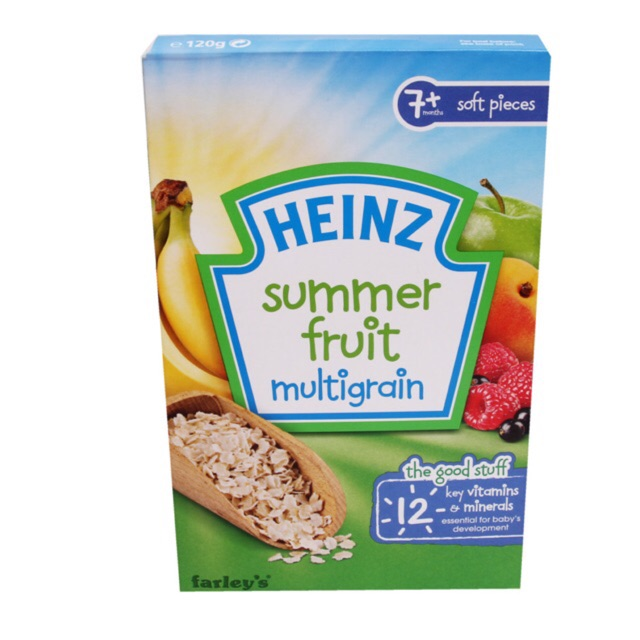 Bột ăn dặm Heinz trái cây mùa hè