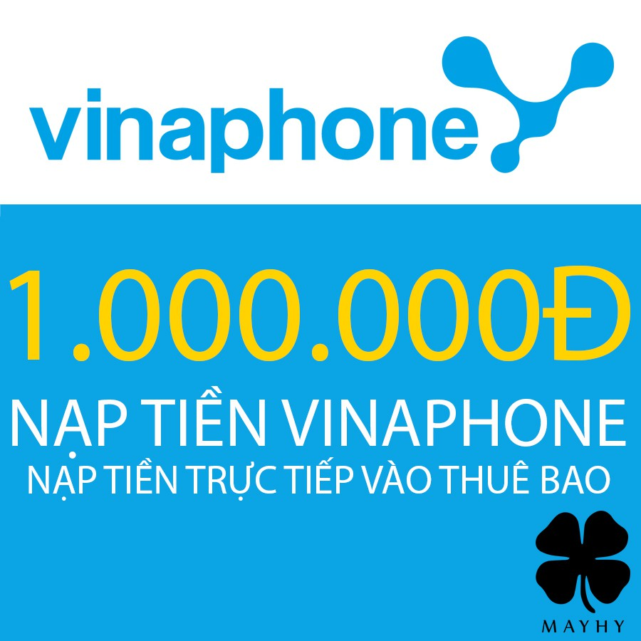 Nạp tiền trực tiếp Vina mệnh giá 1.000.000