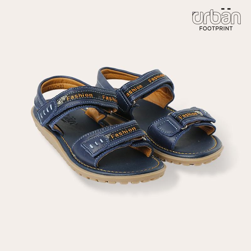 D&A dép sandal bé trai D0617 xanh chàm