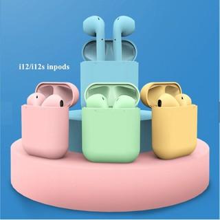 ▥✠♤☂❆Tai Nghệ Bluetooth Inpods 12 Chính Hãng Chống Nước IPX5 Cảm Biến 1 điểm chạm âm thanh siêu hay[Chính Hãng Công