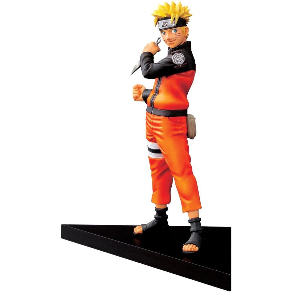 Mô hình nhân vật Figure Banpresto Naruto Shippuden Shinobi Relations Uzumaki Naruto