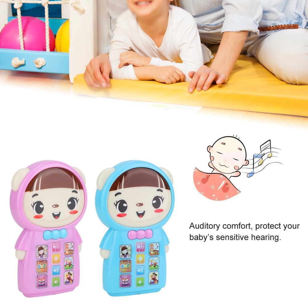 Story Language Light English Machine with Music Educational Toys Learning and