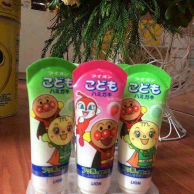 KEM ĐÁNH RĂNG LION Cho bé của Nhật Bản - 22531259 , 259470842 , 322_259470842 , 50000 , KEM-DANH-RANG-LION-Cho-be-cua-Nhat-Ban-322_259470842 , shopee.vn , KEM ĐÁNH RĂNG LION Cho bé của Nhật Bản