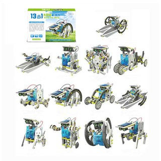 14 In 1 Assemble Solar Transformers Educational Toy