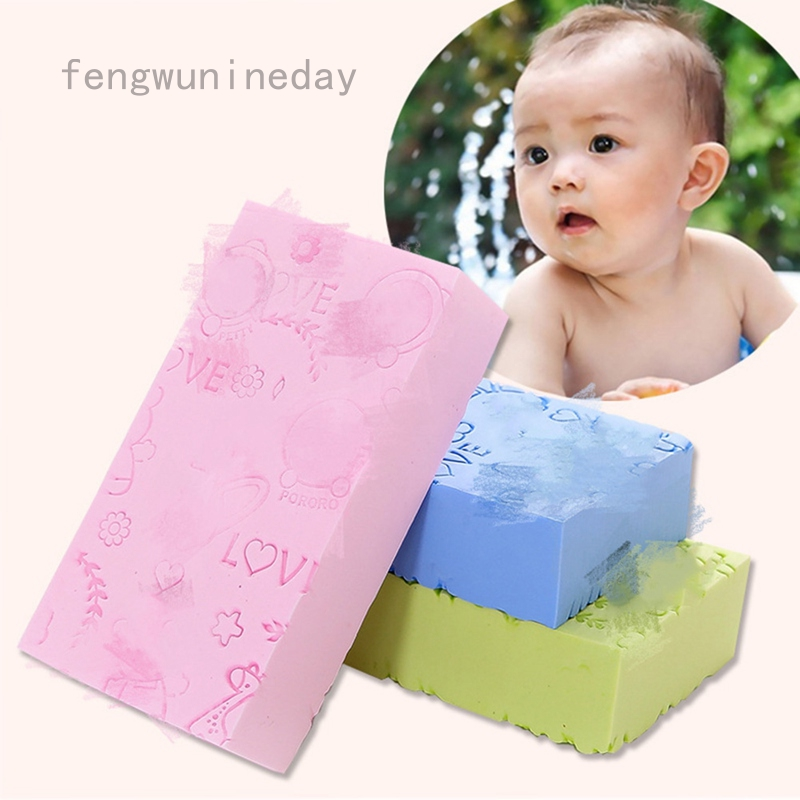 Miếng mút tắm tẩy da chết mềm mại dành cho người lớn/trẻ em