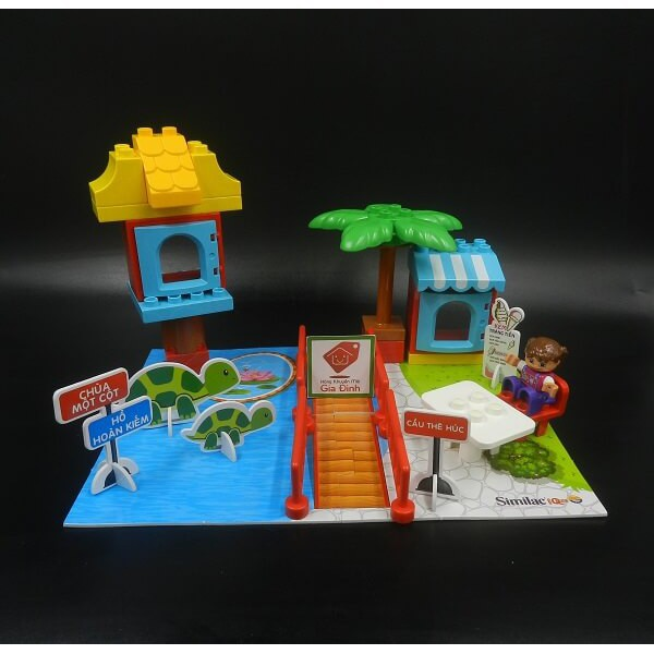[ĐỒ CHƠI LEGO] BỘ LẮP RÁP DU LỊCH VIỆT NAM - Đồ khuyến mãi từ sữa Similac