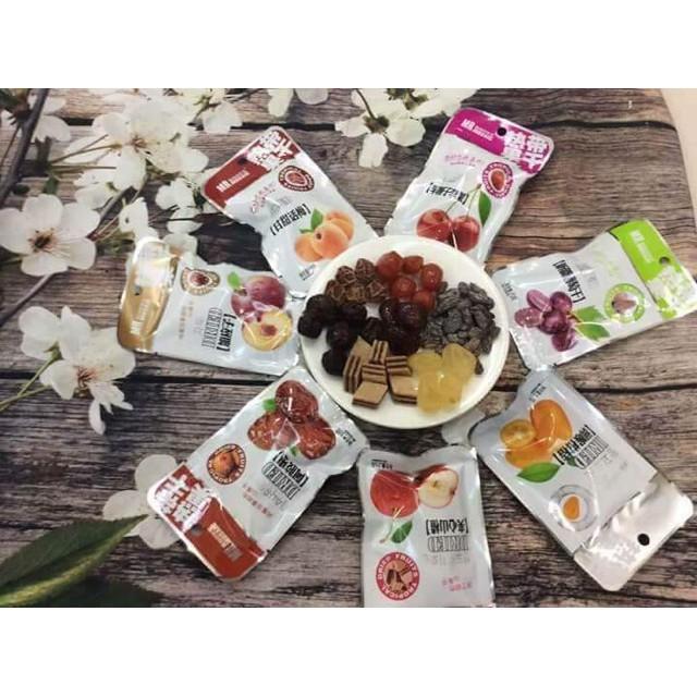 BOX ĂN VẶT 3: Bộ sưu tập ômai hoa quả nhiệt đới Đài Loan mẫu mới siêu ngon