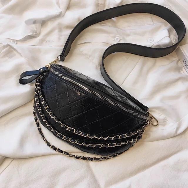 Túi đeo chéo nữ cá tinh phong cách châu Âu 603