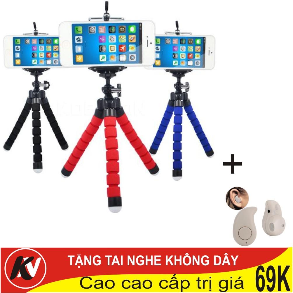 Combo Giá đỡ điện thoại 3 chân bạch tuộc đa năng + tai nghe Bluetooth - 3386188 , 1199135020 , 322_1199135020 , 75000 , Combo-Gia-do-dien-thoai-3-chan-bach-tuoc-da-nang-tai-nghe-Bluetooth-322_1199135020 , shopee.vn , Combo Giá đỡ điện thoại 3 chân bạch tuộc đa năng + tai nghe Bluetooth