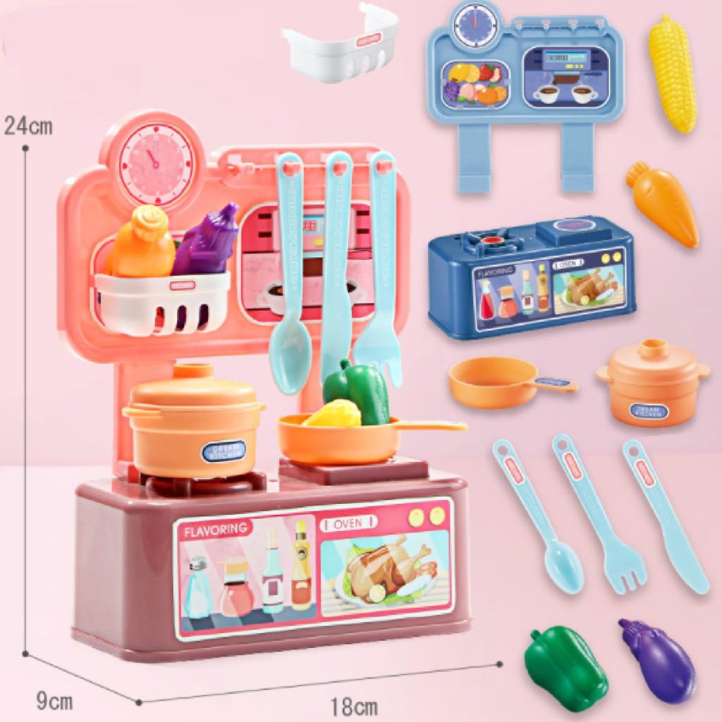 Bộ đồ chơi nấu ăn nhỏ cho bé gái tốt giá rẻ