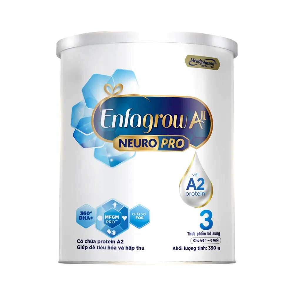 Sữa bột Enfagrow A2 Neuropro 3 – 350g