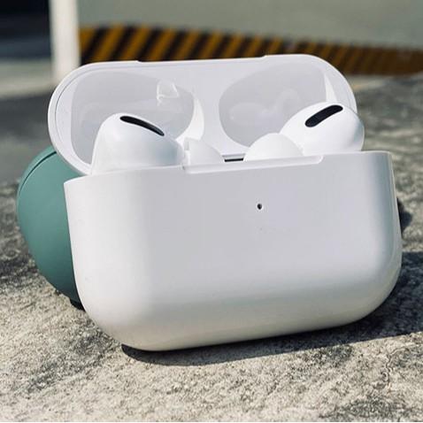 Tai Nghe Không Dây Bluetooth Airpods Pro Nguyên Seal Fullbox 100% Pin 3.5H Chống Ồn, Định Vị, Bass Cực Ấm