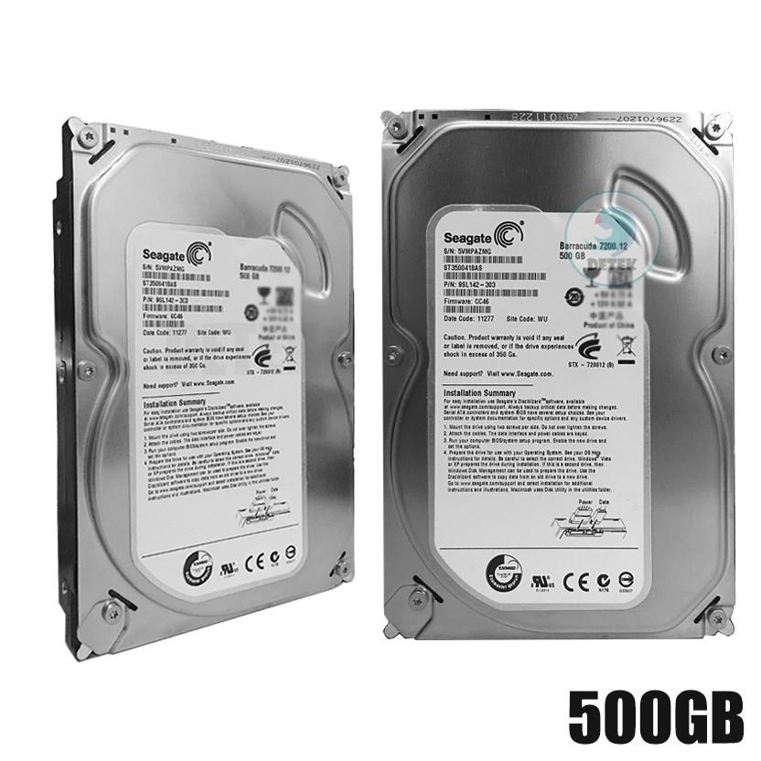 Ổ cứng HDD 500Gb Western/Seagate chuyên Camera