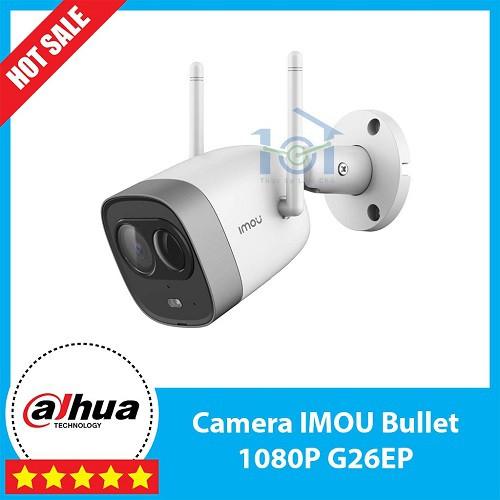 Camera IP 2.0M WiFi Ngoài Trời IMOU G26EP 1080P FullHD TF3 Còi Hú ,Màu Sắc Ban Đêm Dahua Việt Nam
