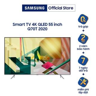 Smart Tivi Samsung 55 inch QLED 4K QA55Q70TAKXXV - Miễn phí lắp đặt