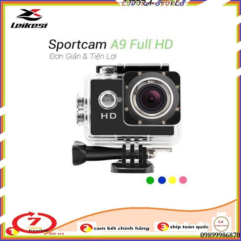 [Nhập KYLOOO8900G giảm 10K ] Camera hành trình HD 1080 Sport Cam A9, Máy Ảnh, Máy quay phim tốc độ Full HD 1080P