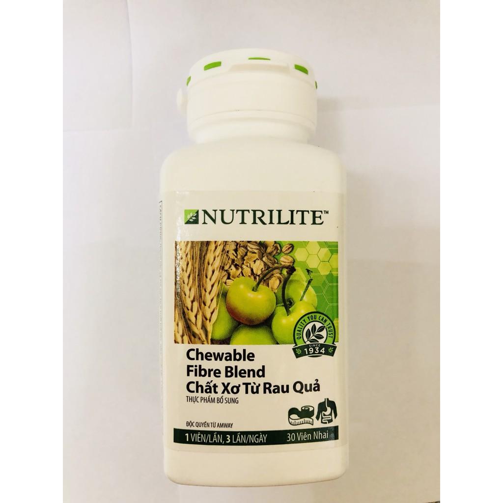 Thực phẩm bổ sung chất xơ từ rau quả Nutrilite Amway (30 viên) - 2609265 , 729875193 , 322_729875193 , 414000 , Thuc-pham-bo-sung-chat-xo-tu-rau-qua-Nutrilite-Amway-30-vien-322_729875193 , shopee.vn , Thực phẩm bổ sung chất xơ từ rau quả Nutrilite Amway (30 viên)
