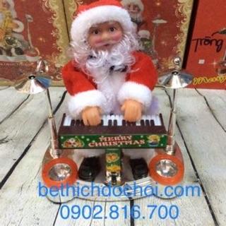 Đồ chơi ông già Noel đánh đàn