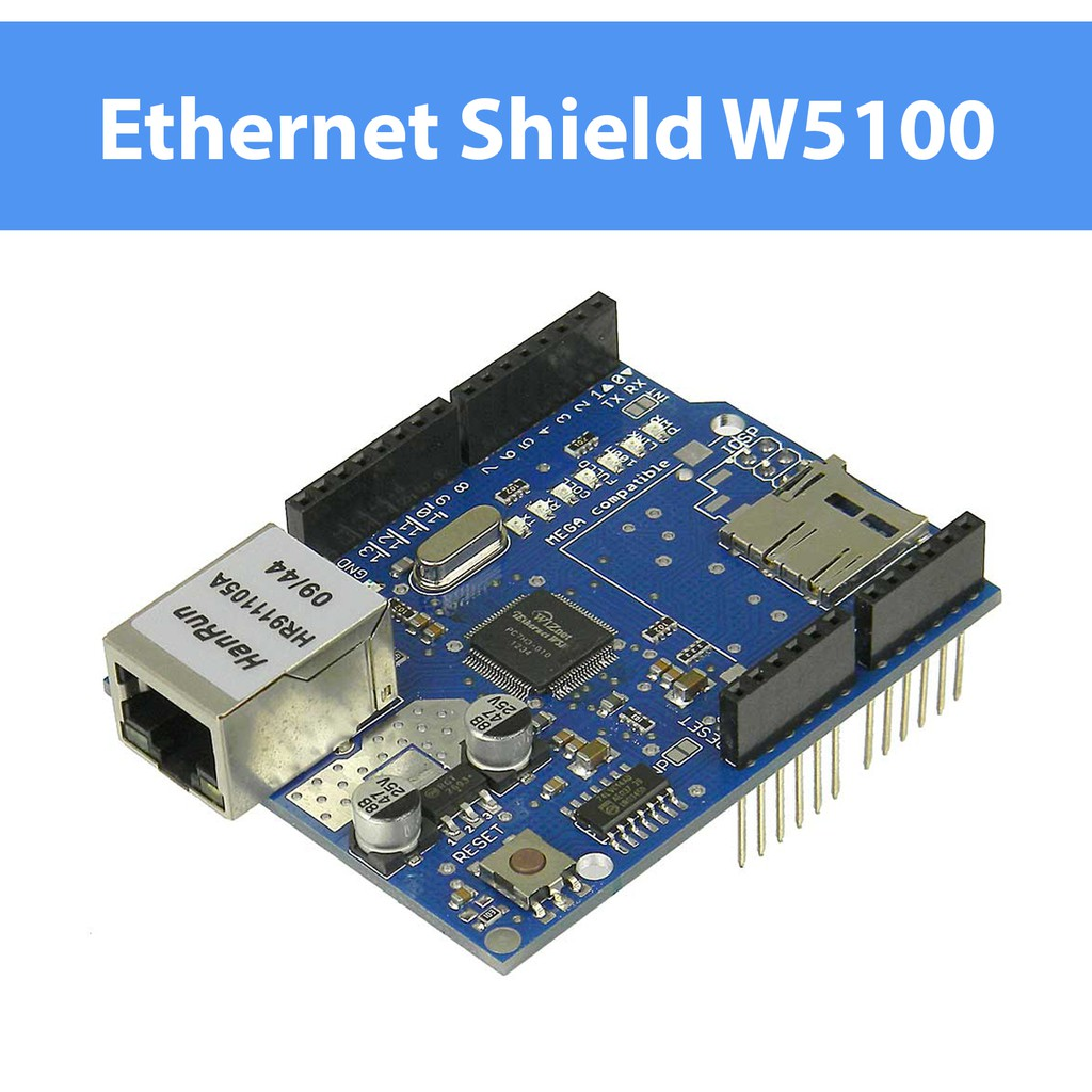 Arduino Ethernet Shield W5100