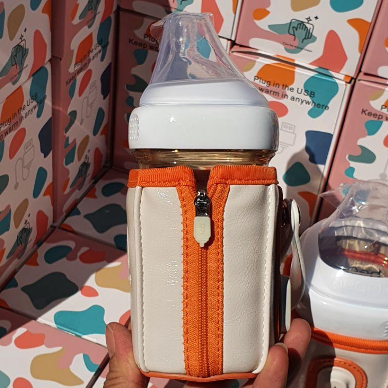[Mã 267FMCGSALE giảm 8% đơn 500K] Túi ủ bình sữa vuông NICEPAPA sử dụng cho bình sữa vuông _ có bảo hành
