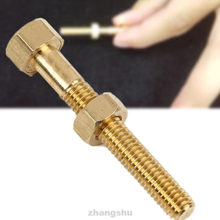 Magic Rotating Mind Screw Performance Bolt Close Up Nut Tricks Empty-handed