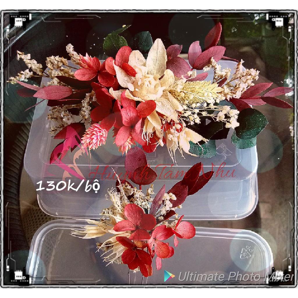 Hoa khô cài tóc cô dâu - 14407802 , 1211101288 , 322_1211101288 , 130000 , Hoa-kho-cai-toc-co-dau-322_1211101288 , shopee.vn , Hoa khô cài tóc cô dâu