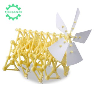 🌟Wind Power Puzzle Assembly Diy Model Building Kit Children Gifts