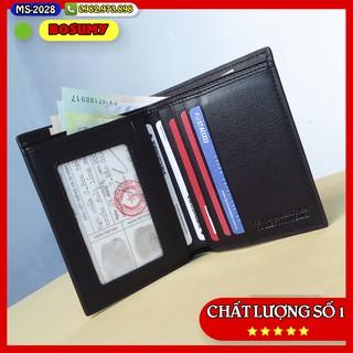 Bóp Ví nam mini nhiều ngăn bóp da nam phong cách doanh nhân D2028