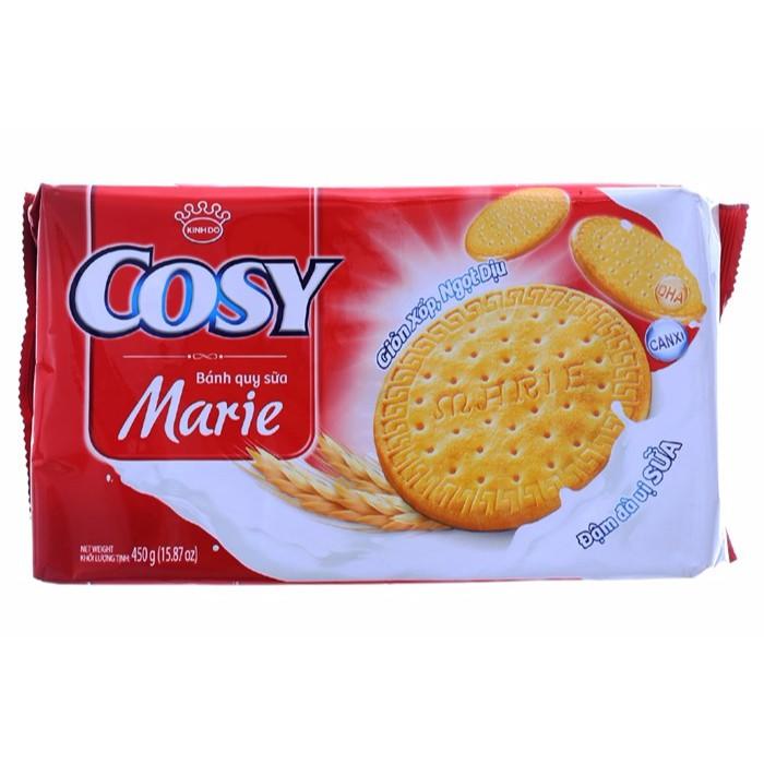 Bánh quy Cosy vị Sữa gói 450g
