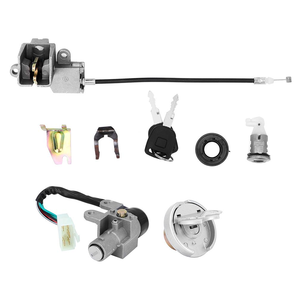 Henlai Ignition Switch Key Lock Set for GY6 110 150 250cc 49