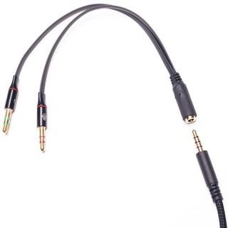 Jack chia 3.5 ra Audio và Mic cho máy tính PC