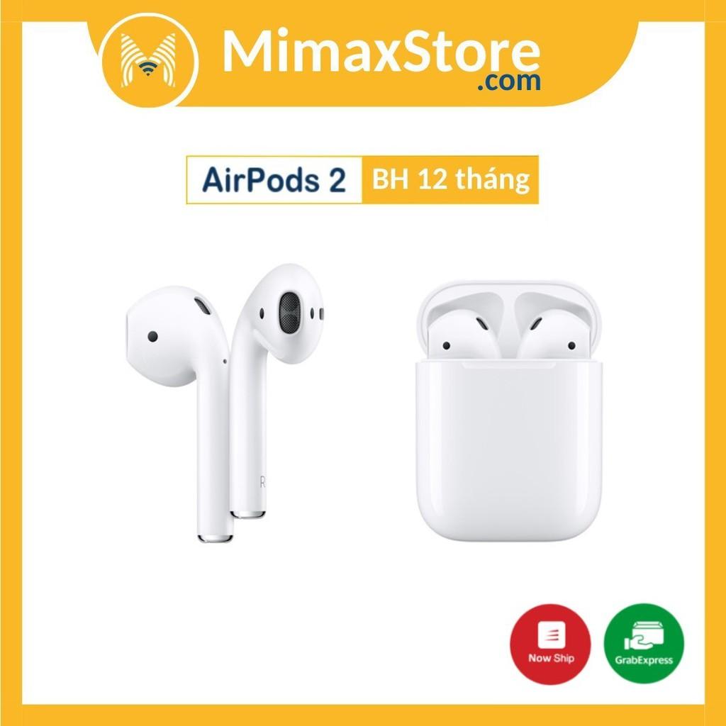 [Bản VN/A] Tai Nghe Bluetooth Apple AirPods 2 - MV7N2 - VN/A Mới 100% Loại Sạc Có Dây | Hàng Chính Hãng Apple