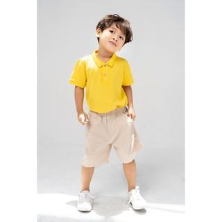 Quần sooc trẻ em YODY dành cho bé trai bé gái Kaki mềm mịn QJK4113 thumbnail