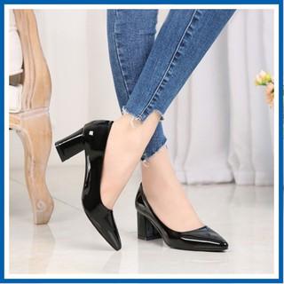 Giày Nữ Cao Gót Thời Trang 5CM Đẹp Sang Chảnh Mã C22
