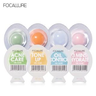 Mặt nạ Focallure lõi đôi 7 ngày dưỡng ẩm kiềm dầu làm trắng da chăm sóc da mặt hiệu quả thumbnail