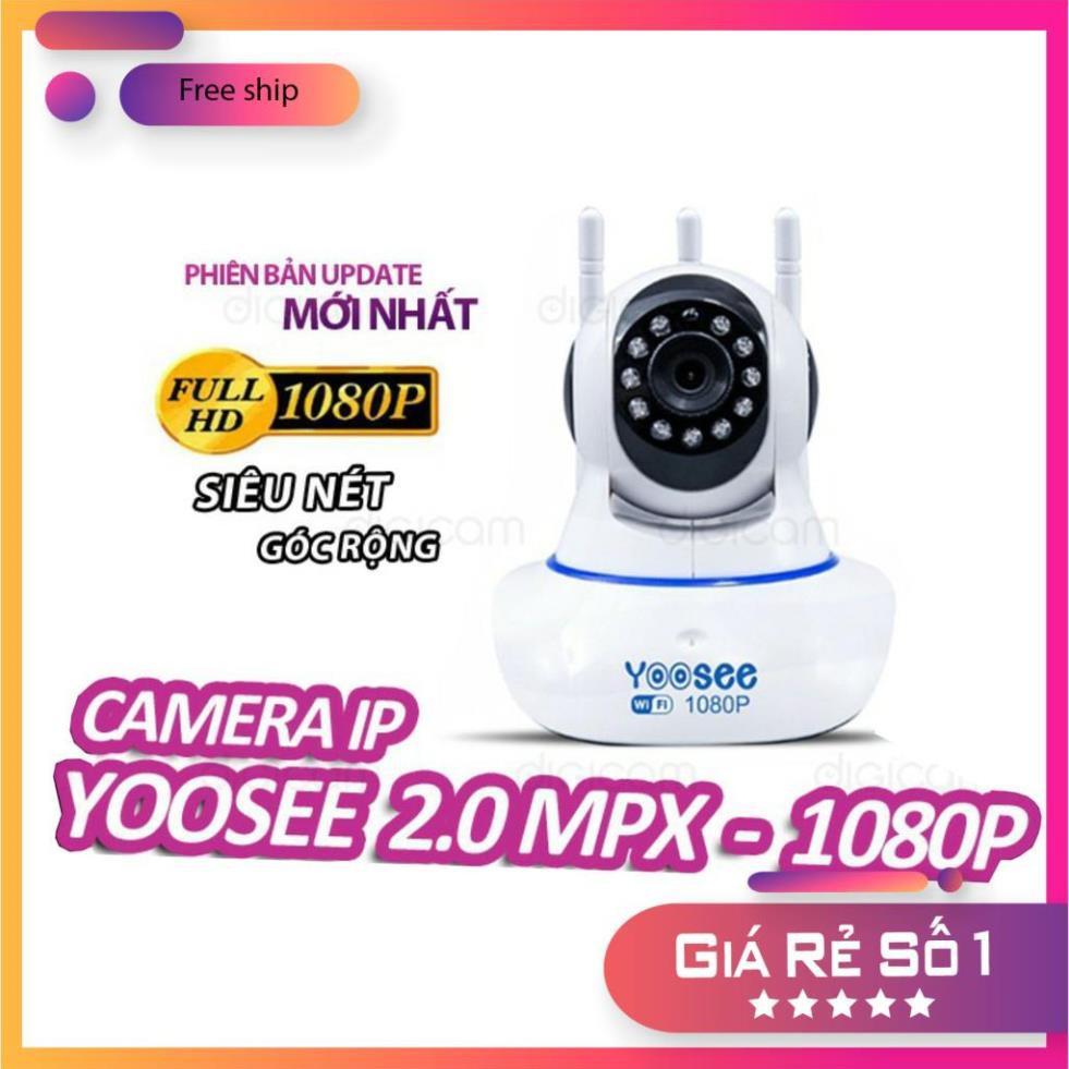 Camera IP YooSee 2.0mpx 1080P | Góc quay 360 độ | Cảm biến hồng ngoại